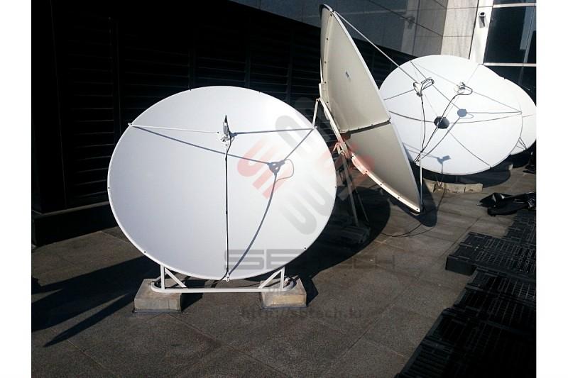 위성안테나  프라임포커스 안테나  1.8m 위성안테나  Ku-band LNB  에스비테크  SBTech  httpsbtech.kr