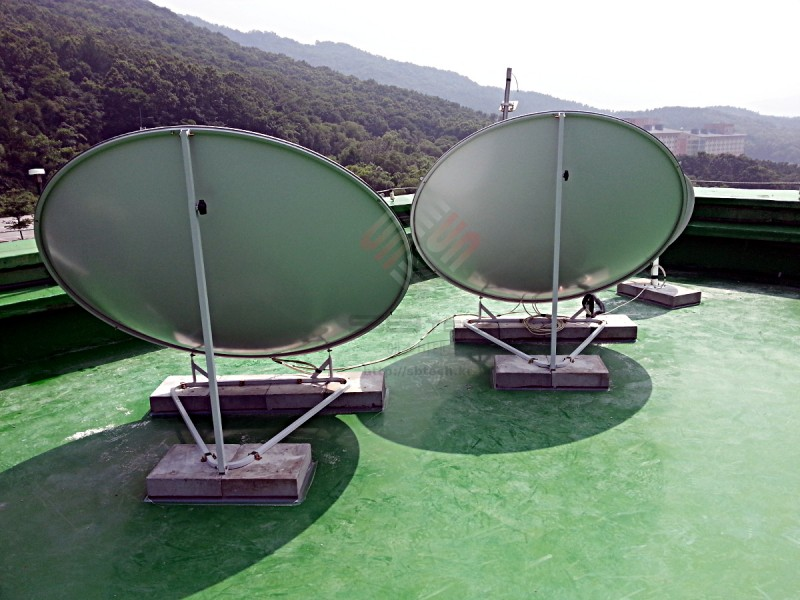 한국외국어대학교 용인 SMATV-IF 공사  1.6m 위성안테나  75Cm 위성안테나  에스비테크  httpsbtech.kr