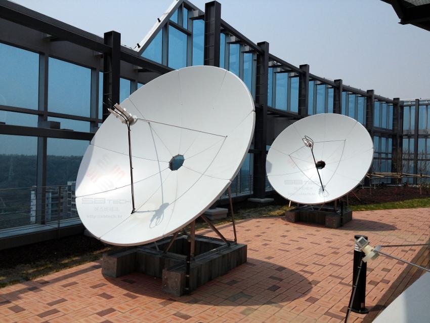 에스비테크 중앙방송 J골프 위성시스템 시공 | sbtech.kr